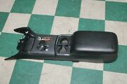 11-14 Charger Black At Floor Console Shifter Lever Leather Armrest Assembly Oem