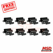 Msd Ignition Coil Fits Gmc Envoy Xl 2003-2004