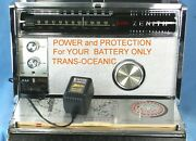 Zenith Trans-oceanic Royal 3000 And 1000 Ac Adapter For Battery Only Units