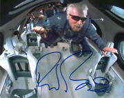 Richard Branson Signed Autograph 8x10 Photo - Virgin Galactic Ceo In Space Rare