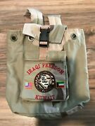 And039operation Iraqi Freedomand039 Iraq War Camouflage Us / Iraq Flag Bag Pouch Backpack