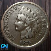 1876 Indian Head Cent Penny -- Make Us An Offer K5544