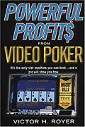 Powerful Profits From Video Poker Paperback Victor H. Royer