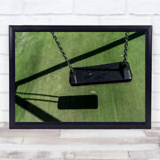 Itand039s Summertime And The Children Are Gone Close Up Swing Wall Art Print