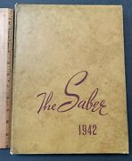 1942 The Saber Kentucky Military Institute Antique Class Yearbook 71421