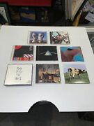 Pink Floyd 8 Album Cd Lot Darkside Of The Moon The Wall Division Bell +++