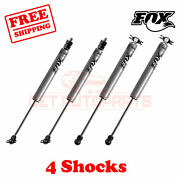 Kit 4 Fox Shocks Front 2-3.5 And Rear 2-3 Lift For Jeep Cherokee Xj 1984-01