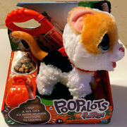 Furreal Poopalots Big Wags Interactive Kitty, Connectible Leash System