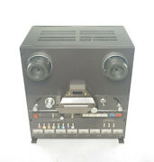 Tascam 38, 1/2 Inch Tape 8-track Recorder With Aands Flight Road Case Co For Parts