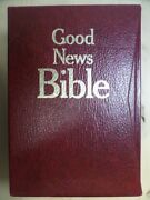 The Good News Bible 2 Volume Complete Set Large Print By American Bible Society
