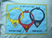 Cub Day Camp Adult Large T-shirt 90th Anniversary Boy Scout Neckerchief Webelos