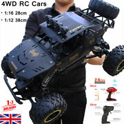 4wd Rc Car 2.4g Remote Control High Speed Off-road Monster Truck Kids Toys Buggy