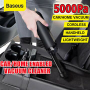 Baseus 5kpa Cordless Handheld Car Vacuum Cleaner Strong Suction Portable Duster