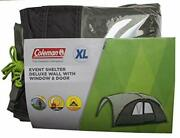 Coleman Event Shelter Deluxe Wall With Window And Door - X-large Green
