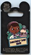 Wdw And Disneyland - 2015 Doctor's Day Pin - Doc Mcstuffins And Hallie Pin