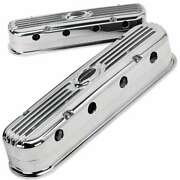 Billet Specialties P95460 Valve Cover Ls Modular Ribbced Profile Polished