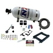 Nitrous Express 60075-10 Dominator Gemini Stage 6 Alcohol With 10lb Bottle.