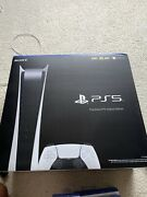 New Sony Playstation 5 Digital Edition Console Bundle Ps5 - In Hand - Fast Ship