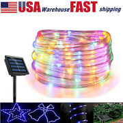 50/100led Solar Powered String Fairy Lights Rope Patio Christmas Outdoor Garden
