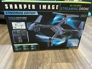 New Sharper Image - Dx-4 Drone With Remote Controller Black/yellow