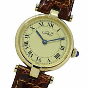 1851 Mast Vermeille 925 Quartz Women And039s Previously Owned No.8501