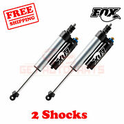 Kit 2 Fox 0-1.5 Lift Front Shocks Fits Ford F350 Cab Chassis/utility 4wd 05-07