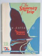 Vintage Saguenay Trip 4th Ed Book Canada Steamship Lines Foldout Map Nice