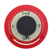 Car Rv Marine Boat Battery Selector Isolator Disconnect Rotary Switch On/off