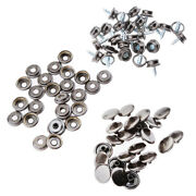 75pcs Boat Marine Canvas Cover Snap Fasteners 3/8and039and039 Screw Stud Button Socket