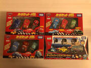 Tomica Cars Set Team Mcqueen And Pit Crew Of