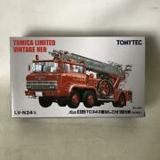 Tommy Tech Hino Tc343fire Truck With Ladder Oyama City Fire Department Lv-n24b