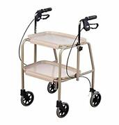 Homecraft-19823 Deluxe Walker Trolley Mobility Aid With Built In Trays For Ca...