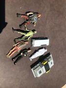 Mcfarlane Toys 1998 Xfiles Action Figure Lot And Accessories