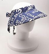 Visor By Sea Line Navy Cotton Womenand039s Unused 328/me
