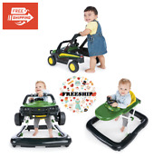Bright Starts 4 Ways To Play John Deere Gator Baby Walker With Activity Station