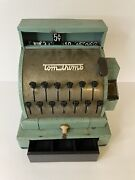 Vintage 1950s Tom Thumb Tin Toy Cash Register Working Western Stamping Michigan