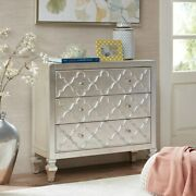 Madison Park Somerset Mdf And Wood Chest In Antique Silver Finish Mp130-0157