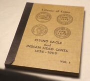 Libarary Of Coins Album Flying Eagle And Indian Head Cents 1856-1909. Lot 8022