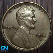 1914 S Lincoln Cent Wheat Penny -- Make Us An Offer K5893