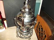 United Vintage Ornate Automatic Coffee Maker On Stand 550 With Cord Works