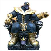 Marvel Side Show Thanos Limited To 3500 Figures With Replacement Head From Jpn