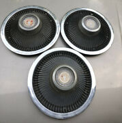 Vintage 1968 1969 1970 1971 1972 1973 Ford Galaxie Ltd Hubcaps Wheel Covers
