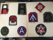Lot Ww2 Patches Us Military Wwii Army Navy Air Force