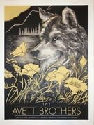 Avett Brothers New Haven Ct July 2016 Poster Concert Screen /200 Print Simsbury