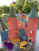 Vintage 1980s My Little Pony Mlp Dream Castle G1 First Generation And Accessories