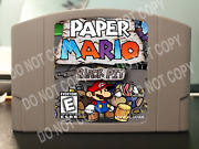 Paper Mario Black Pit -andnbsp For Play On The N64 Nintendo 64