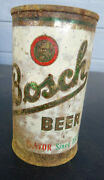 Vintage Bosch Beer Can Flat Top Bosch Brewing Houghton Michigan Since 1874