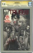 True Blood 1 Campbell Larryand039s Red Foil Variant Cgc 9.8 Ss 2010 1011602014