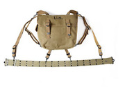 Ww2 Us Army M36 Haversack And Us Belt X-straps Equipment Collection Hi-q 1943