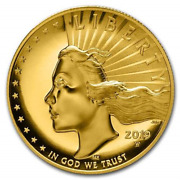 2019 American Liberty One Ounce Gold High Relief Coin 19da - Beautiful